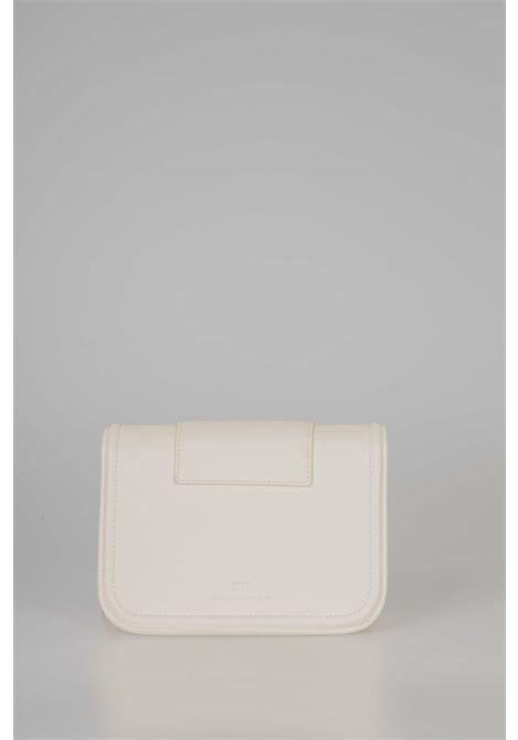 Mini clutch bag con tracolla a catena e maxi logo ELISABETTA FRANCHI | Borsa | BS80A06E2193