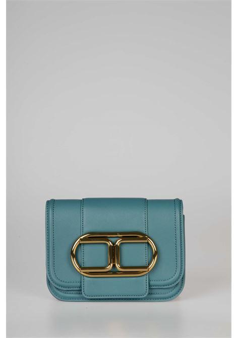 Mini clutch bag con tracolla a catena e maxi logo ELISABETTA FRANCHI   Borsa   BS80A06E2804