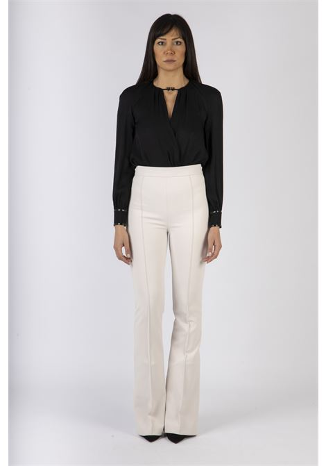 Body camicia con fiocchetto ELISABETTA FRANCHI | Camicia | CB00607E2110