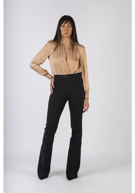Body camicia con fiocchetto ELISABETTA FRANCHI | Camicia | CB00607E2614