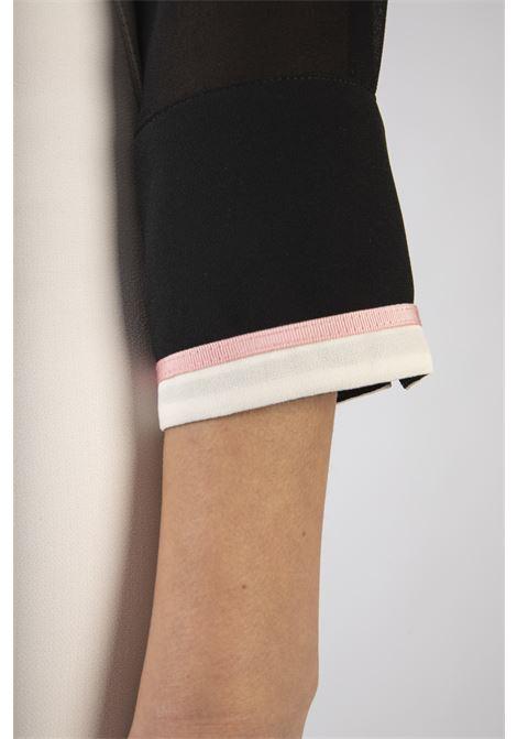 Camicia a body con fiocco removibile ELISABETTA FRANCHI | Camicia | CB01006E2685