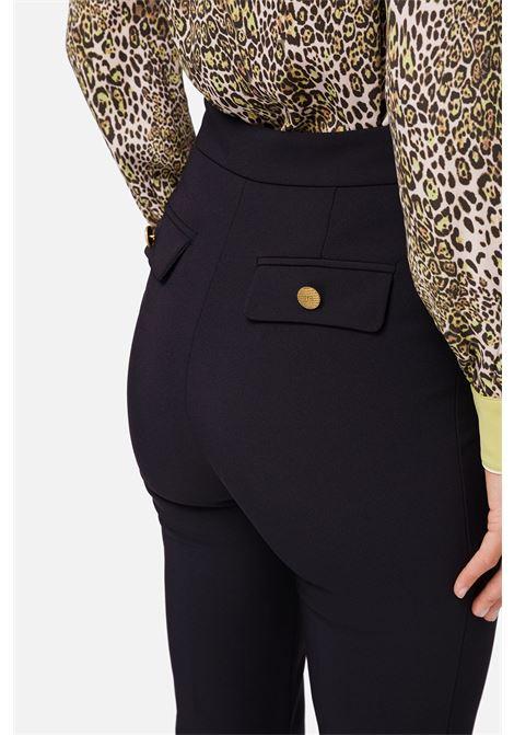 Pantalone skinny a zampa ELISABETTA FRANCHI | Pantaloni | PA34206E2110