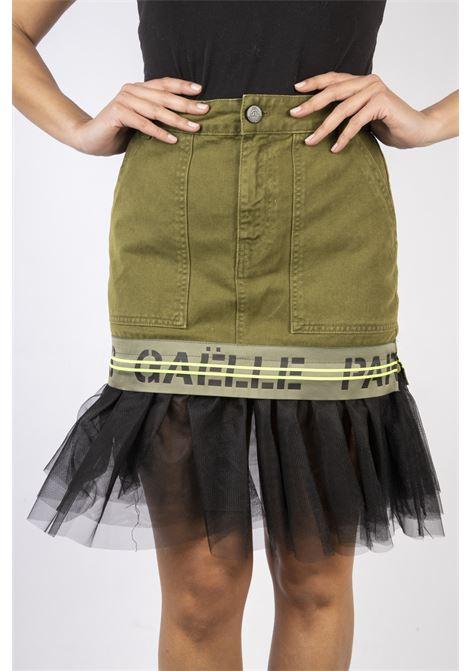 GAELLE | Miniskirt  | GBD7408V.MILITARE
