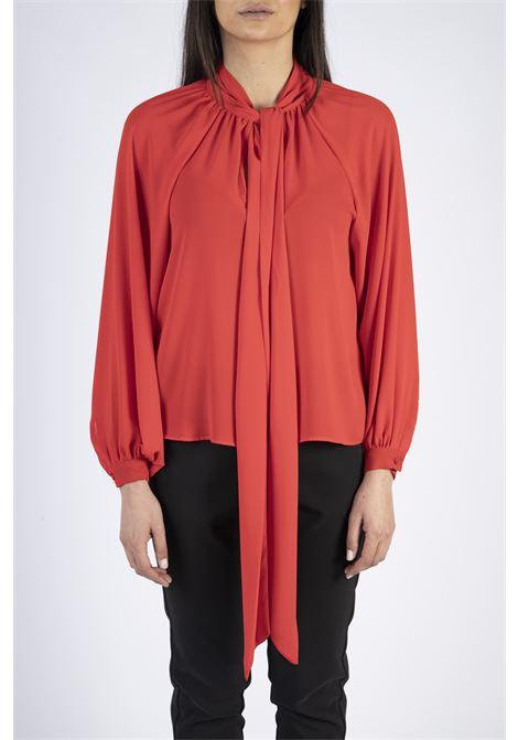 Blusa con collo a goccia e fiocco IMPERIAL | Camicia | CJB9AEG1365
