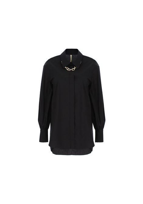 camicia oversize con catena metallica IMPERIAL | Camicia | CJM0ABF1900