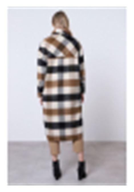 cappotto check con maxi taschino IMPERIAL   Cappotto   KH13ATR2885