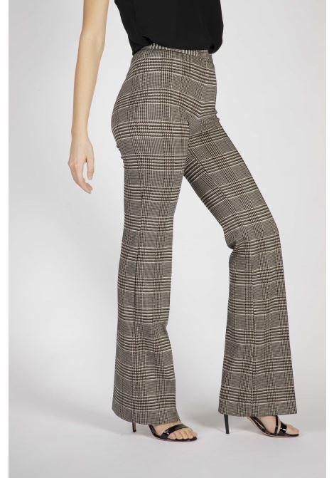 Pantaloni Flare-Fit Disegno Galles Pinko | Pantaloni | 1G15D38184ZC8