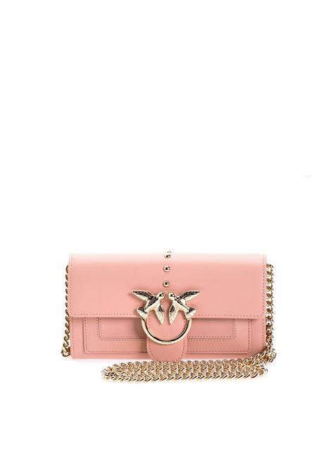 Portafoglio A Tracolla In Pelle Pinko Pinko | Portafogli | 1P21SFY6JCQ19