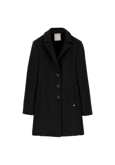 Cappotto regular a tre bottoni PLEASE | Cappotto | K493ENATAS1900