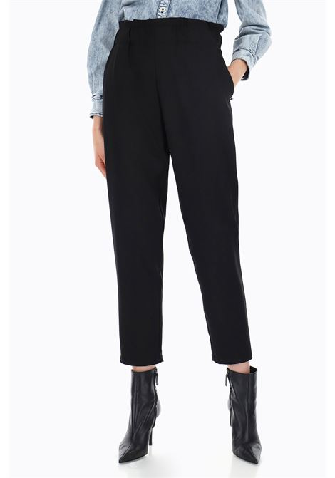 pantaloni con vita alta paperbag PLEASE | Pantaloni | PYZ3WN70001900