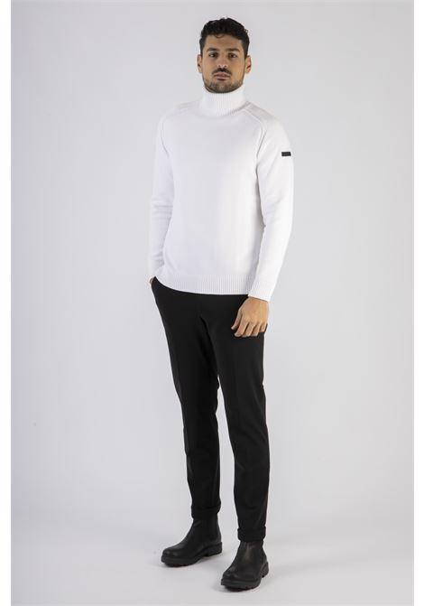 knit cotton plain turtleneck RRD | Maglia | W2011909