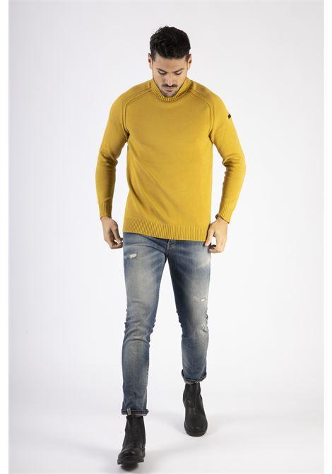 knit cotton plain turtleneck RRD | Maglia | W2011931