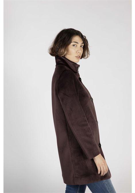Neo Velvet Coat Lady RRD | Cappotto | W2055440