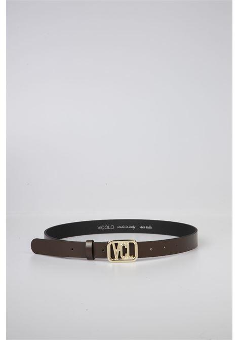 Cintura Pelle Testa di Moro VICOLO | Cintura | AW0071MARRONE