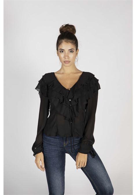 VICOLO | Shirt  | TW0118NERO