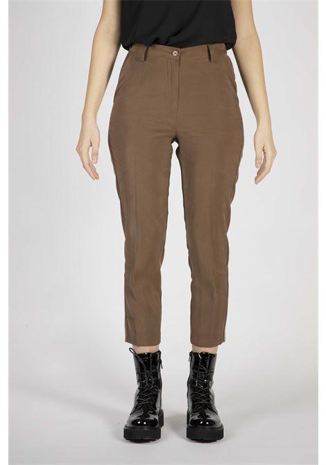 VICOLO | Pants  | TW0258MARRONE
