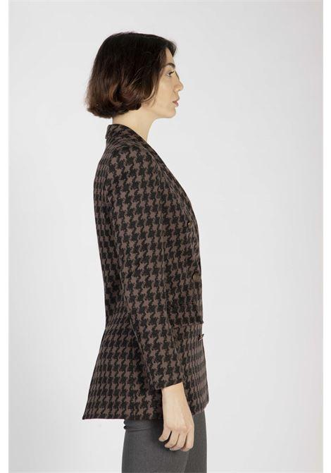 VICOLO | Jacket  | TW0281NERO/MARRONE