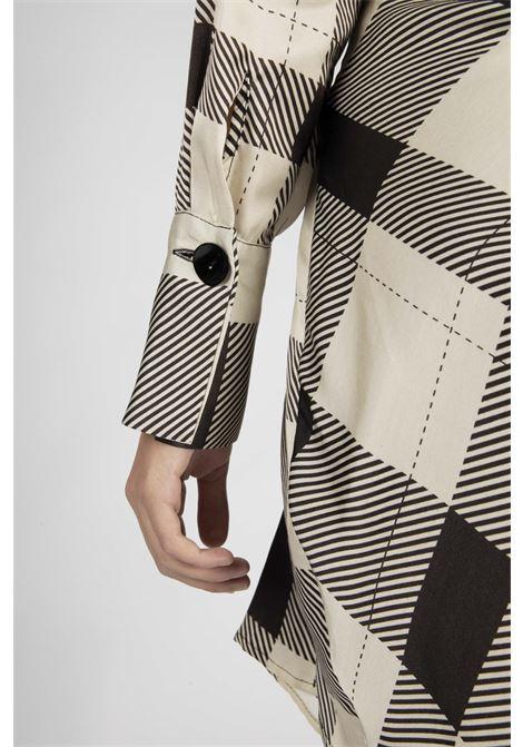 VICOLO | Dress | TW1142BIANCO/NERO