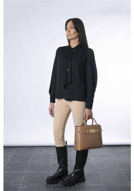 Camicia con iniziali light gold ELISABETTA FRANCHI   Camicia   CA30316E2110