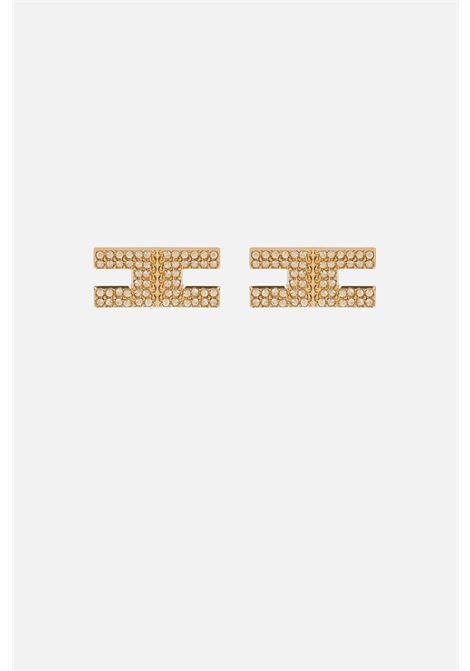 Orecchino Elisabetta Franchi logo ELISABETTA FRANCHI | Orecchini | OR11B16E2U95