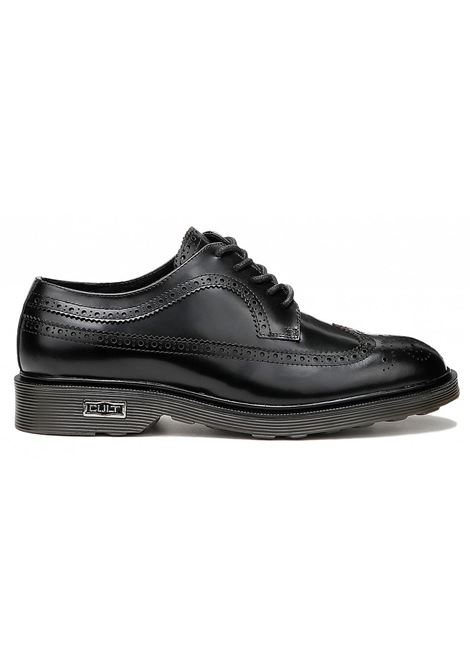 ozzy 414 low m brushed leather CULT | Scarpe | CLE101623BLACK
