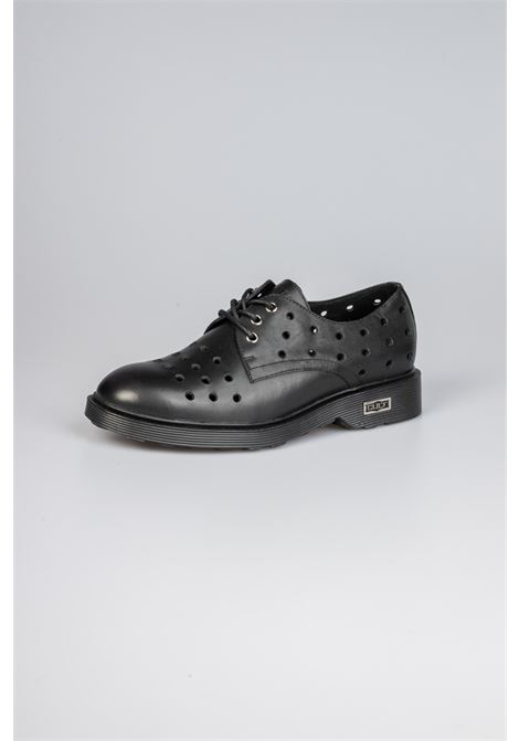 OZZY 1088 LOW M HOLED LEATHER BLACK CULT | Scarpe | CLE103564BLACK