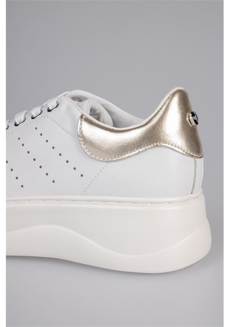 PERRY 3162 LOW W LEATHER CULT | Sneakers | CLE104403WHITE/GOLD