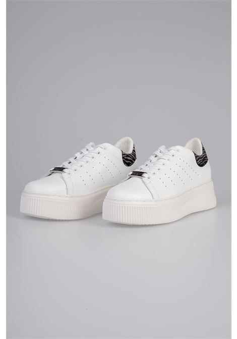 PERRY 3162 LOW W LEATHER/GLITTER WHITE/ZEBRA CULT | Sneakers | CLW316209WHITE/ZEBRAT