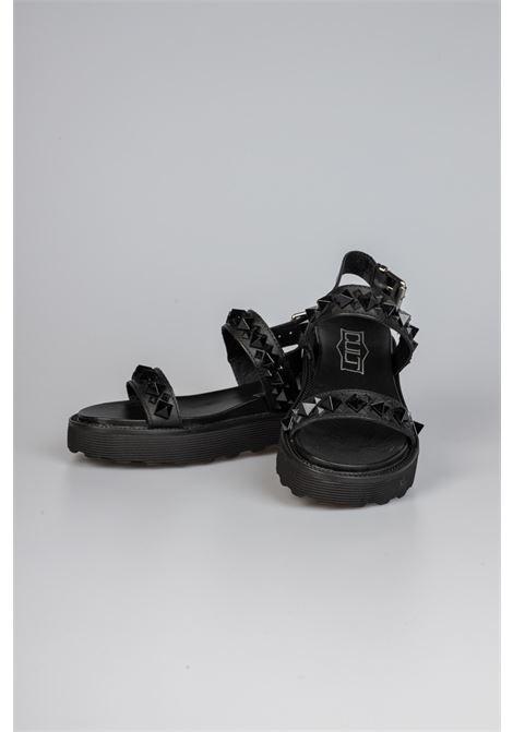 ZIGGY 3286 SANDAL W LEATHER BLACK CULT | Sandali | CLW328600BLACK