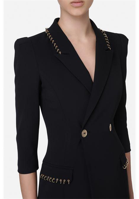 Abito robe manteau con piercing ELISABETTA FRANCHI | Abito | AB04611E2110