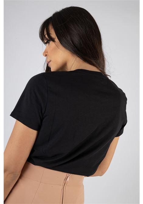 T-shirt Elisabetta Franchi con stampa ELISABETTA FRANCHI | T-shirt | MA18411E2110