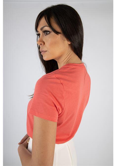 T-shirt Elisabetta Franchi con stampa ELISABETTA FRANCHI   T-shirt   MA18411E2620