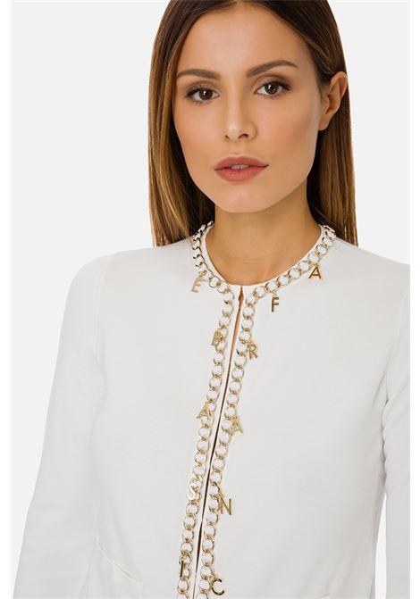 Maglia tricot manica lunga con charms Elisabetta Franchi ELISABETTA FRANCHI | Maglia | MK07S11E2360