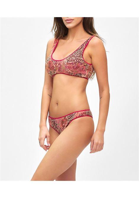 Bikini reversibile con Top e slip brasiliano fisso Mantra F**K | Bikini | F21-0592X1