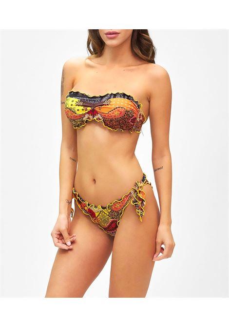 Bikini fascia e slip nodi brasiliano regolabile Frou Frou Summer of love F**K | Bikini | F21-1531U
