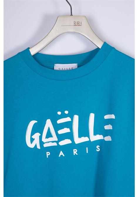 T-SHIRT IN JERSEY GAELLE | T-shirt | GBD8291TURCHESE
