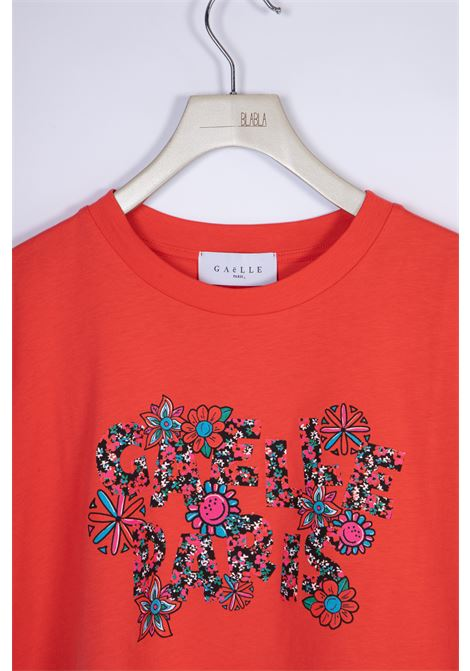 T-SHIRT IN JERSEY GAELLE | T-shirt | GBD8417FRAGOLA
