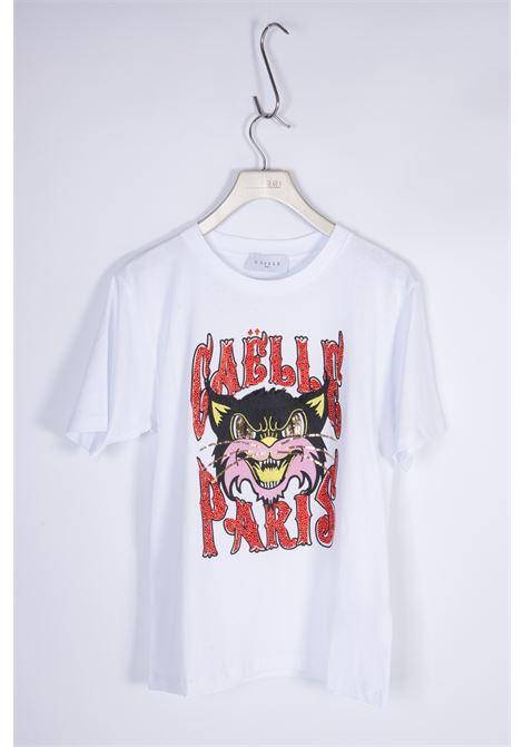 GAELLE | T-shirt  | GBD8642BIANCO