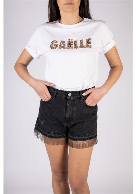 GAELLE | T-shirt  | GBD8880BIANCO