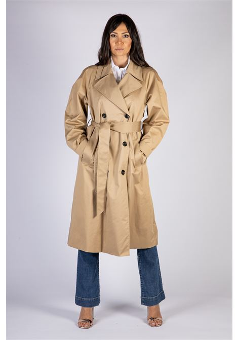 TRENCH DOPPIOPETTO CON MAXI REVERS IMPERIAL | Trench | KH25BDY1806