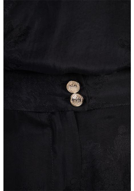 QUIETO PANTALONI JACQUARD FLOREALE Pinko | Pantaloni | 1G15WL-8405Z99