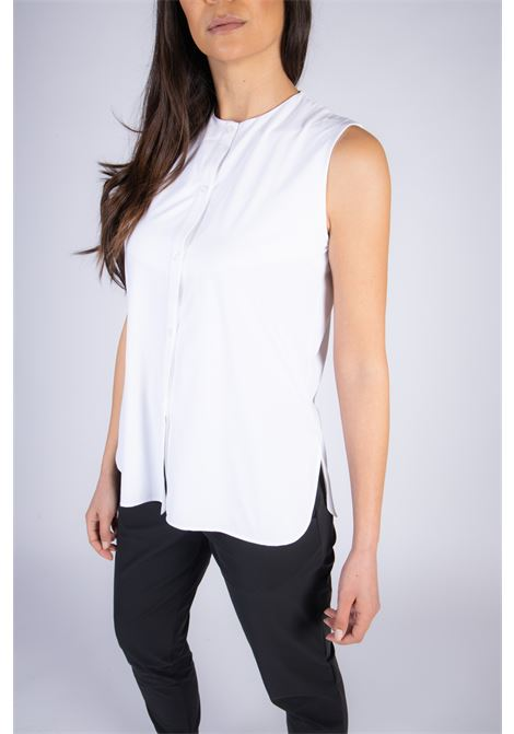 Camicia Shirt Oxford Sleeveless Lady RRD | Camicia | W2165209