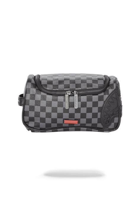 HENNY: BLACK TOILETRY BAG SPRAYGROUND | Beauty case | 910B3439SS21NERO/GRIGIO