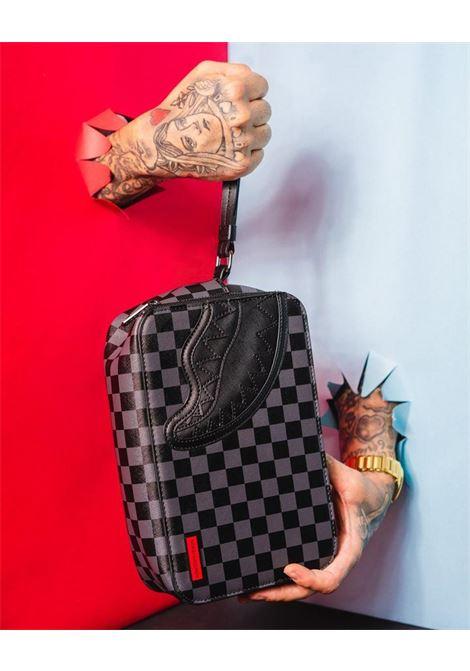 BLACK HENNY SQUARE TOILETRY BAG SPRAYGROUND | Beauty case | 910B3564NSZNERO