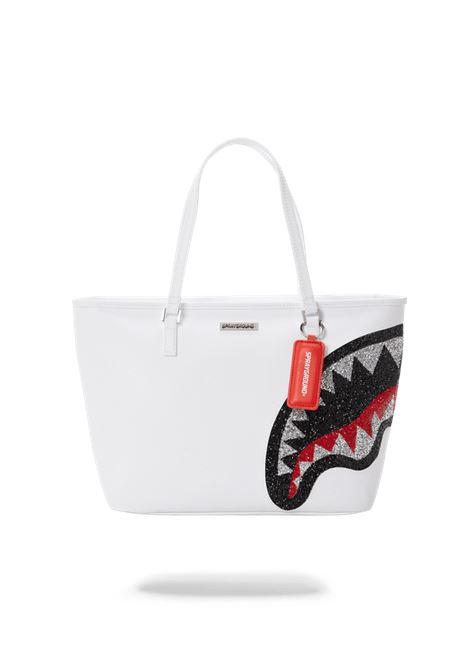TRINITY 2.0 SHARK WHITE TOTE SPRAYGROUND | Shopper | 910T3667NSZBIANCO