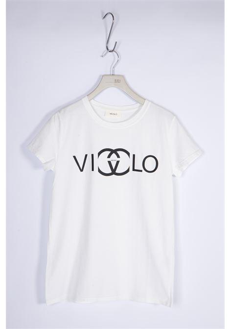 VICOLO | T-shirt  | RH0103BIANCO