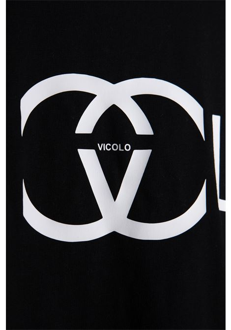 VICOLO   T-shirt    RH0103NERO