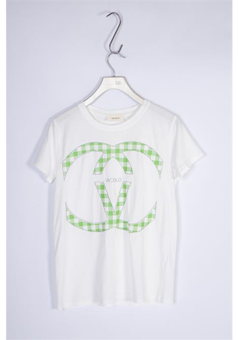 T-shirt Girocollo VICOLO   T-shirt   RH0156VERDE