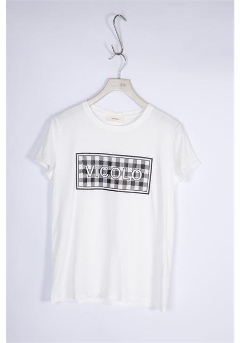 VICOLO | T-shirt  | RH0157NERO