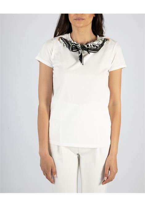 VICOLO | T-shirt  | RH0465BIANCO/NERO